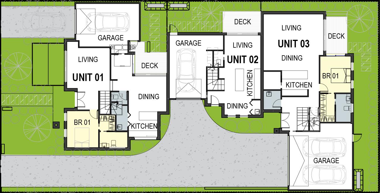 4-Townhouses Development-floorplan3