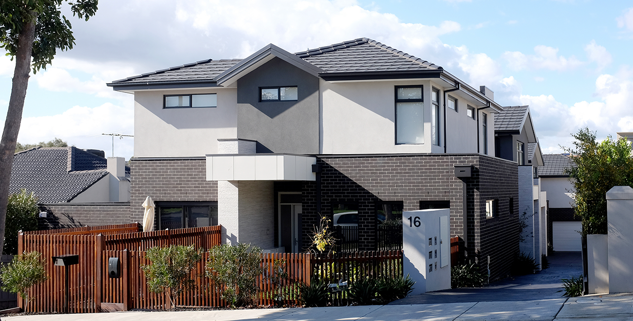 4-Townhouses Development-single