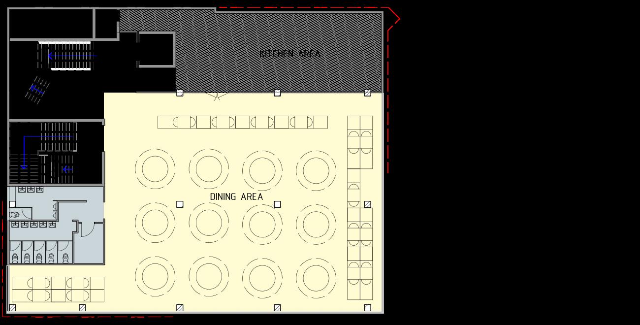 Restaurant Development – Point Cook – floorplan4