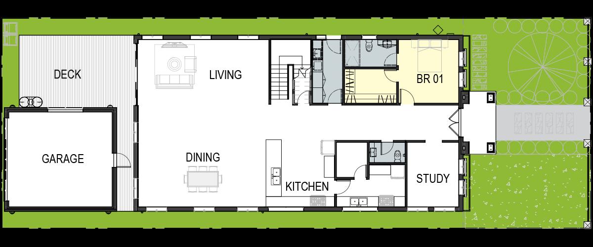 Single Dwelling Development – Coburg-floorplan1